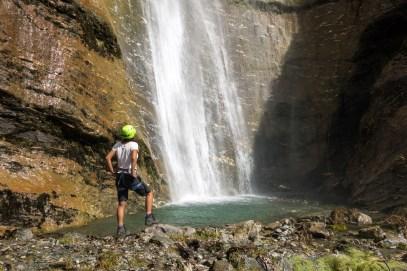 Wildwire Via Ferrata Wanaka - Wasserfall