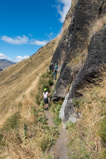 Wildwire Via Ferrata Wanaka - Rückweg