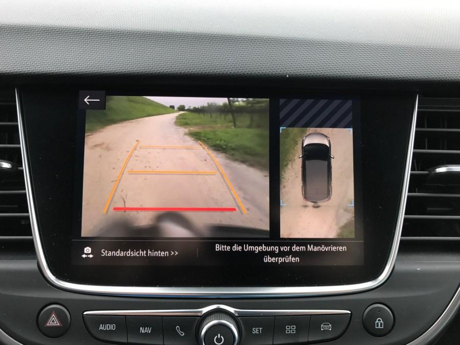 Opel Crossland X - Rückfahrkamera