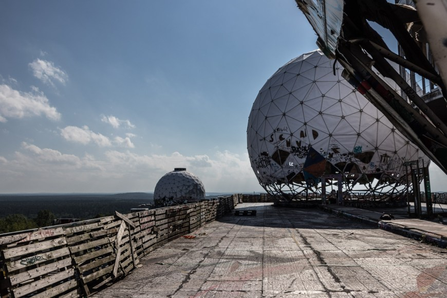 Lost Place Teufelsberg in Berlin