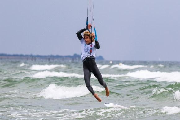 Kitesurfer Matchu Lopes