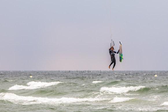 Canon Workshop für Sportfotografie auf Fehmarn - Kitesurfer