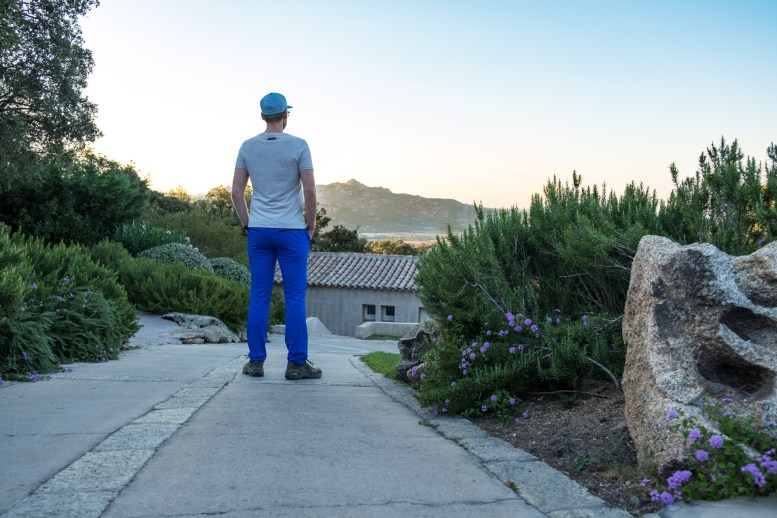 Alberto Hiking Pants Aqua