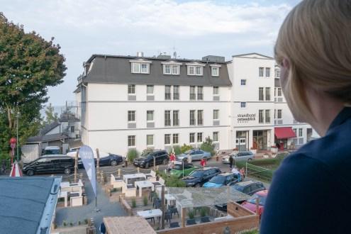 Hotel Heimathafen Usedom - Balkon Zimmertyp Ostseeblickkoje
