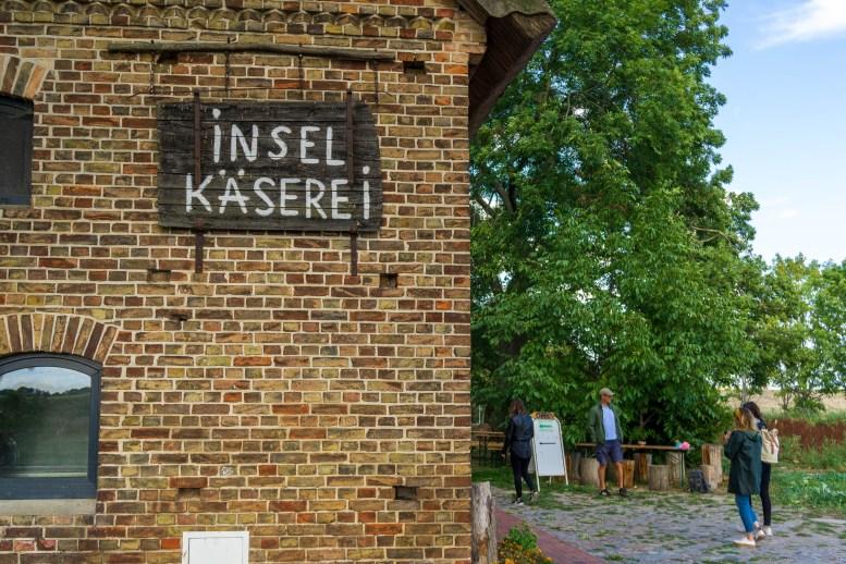 Usedom - Welzin - Inselkäserei