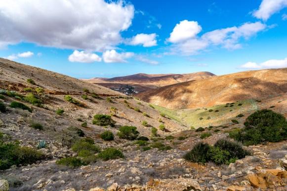 Wanderung Fuerteventura - Von Betancuria zum Morro Velosa - Landschaft