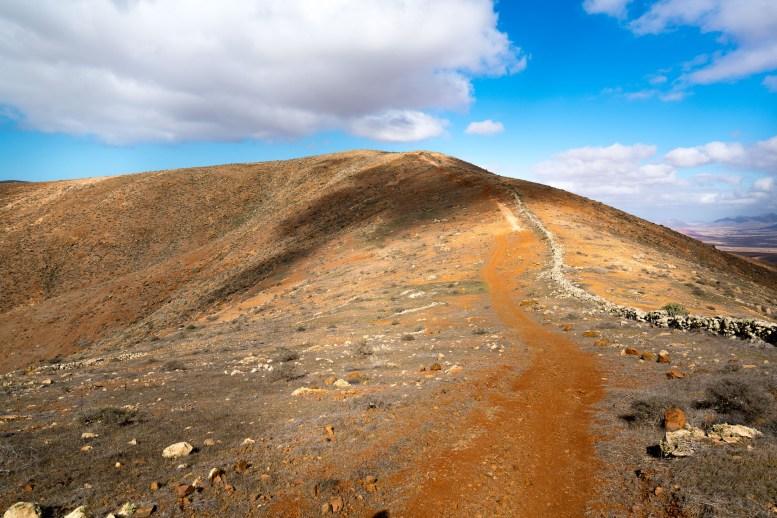 Wanderung Fuerteventura - Von Betancuria zum Morro Velosa - Pfad auf den Moro de Tegtuno