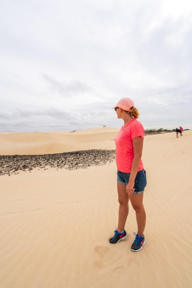 Boa Vista Kapverden - Nord-Südtour mit Baobab Tour - Wüste Viana