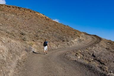 Wanderung Fuerteventura - Von Morro Jable auf den Pico de la Zarza - PR FV 54