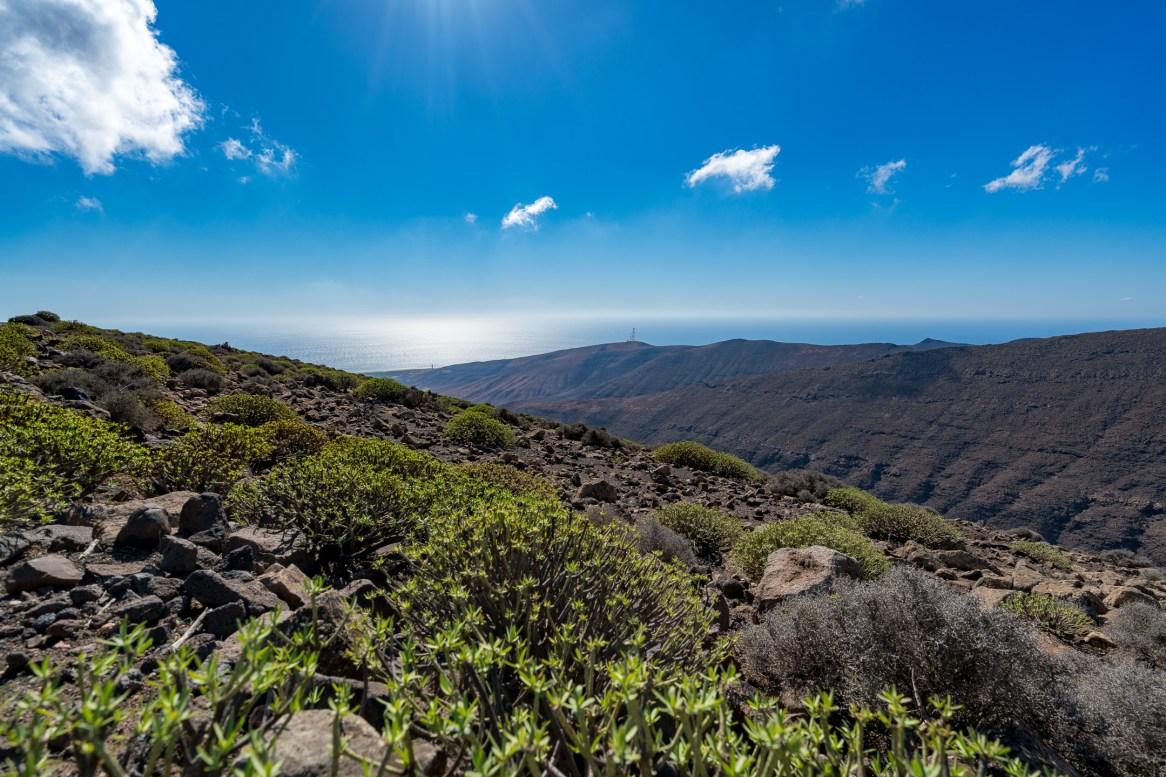 Wanderung Fuerteventura - Von Morro Jable auf den Pico de la Zarza - Vinamar-Ebene - Tablada de Vinamar