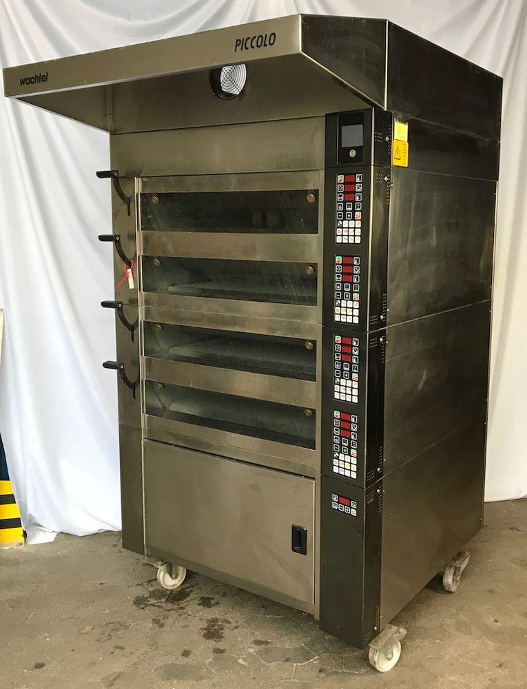 wachtel piccolo i 4 multi deck baking oven