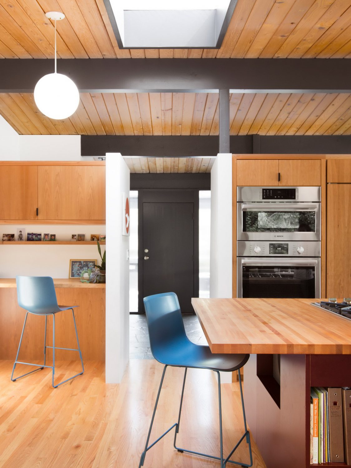 Hillside Midcentury   Mid Century Modern Home Renovation by SHED