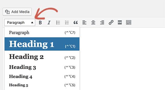 Tăng kích thước phông chữ trong trình soạn thảo trực quan