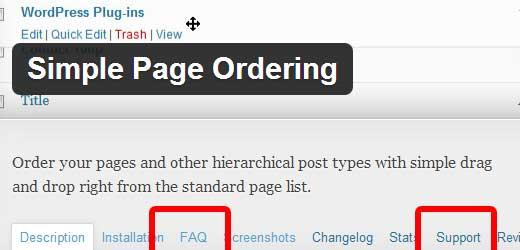 Plugins Page Header