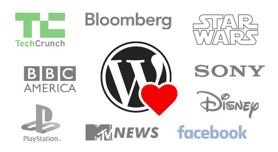 Top Brands Using WordPress