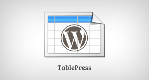 TablePress Must Have WordPress Plugins