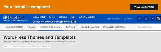 Image result for bluehost sign up information image