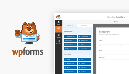 WPForms Header Image