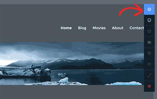 CSS Hero toolbar