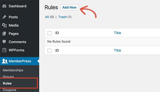Add new rules
