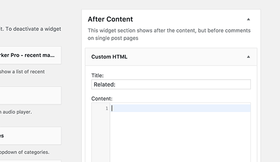Add Matched Content code here