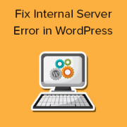 How to Fix the 500 Internal Server Error in WordPress with Video