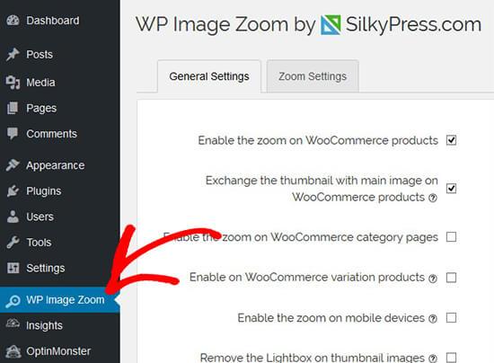 WP Image Zoom
