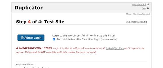 Finishing WordPress migration to new domain name