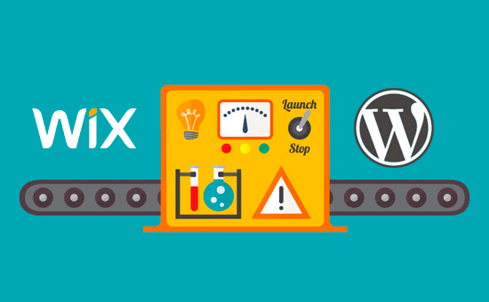 Move from Wix to WordPress
