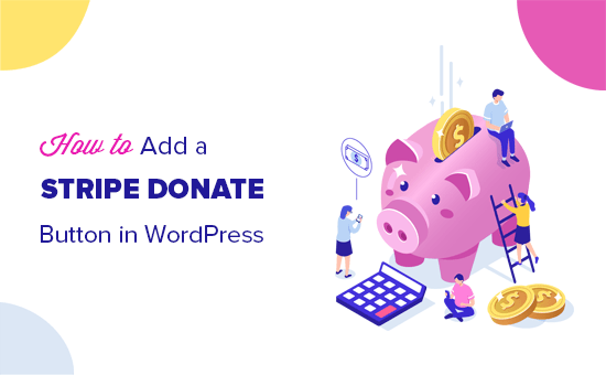 Adding a Stripe donate button in WordPress posts and pages