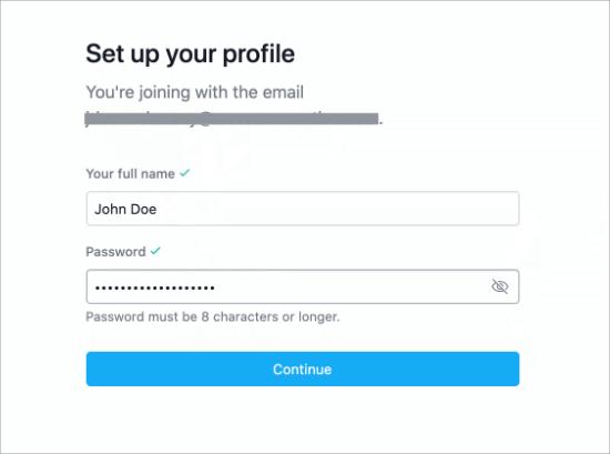 Set up your Asana profile