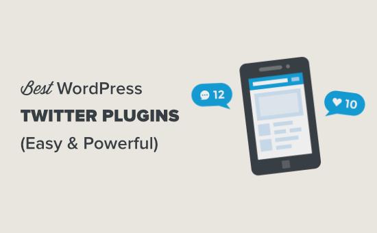 Plugin WordPress Twitter terbaik
