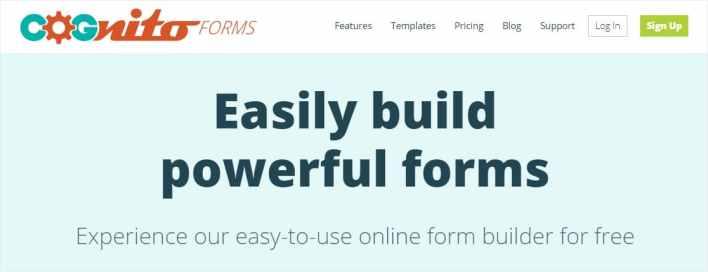 cognitoforms google forms alternatives