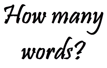 How Many Words is That?