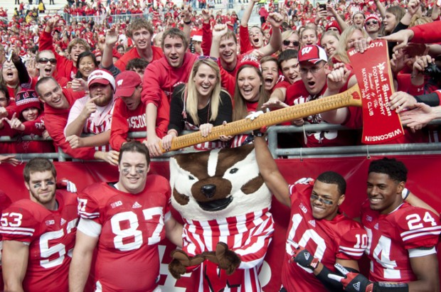 Shining Moments In Badger History Rivalry For The Axe Wisconsin Radio Network