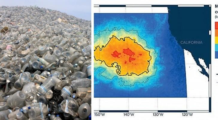 Lisola Di Plastica Del Pacifico  Molto Pi Grande Di