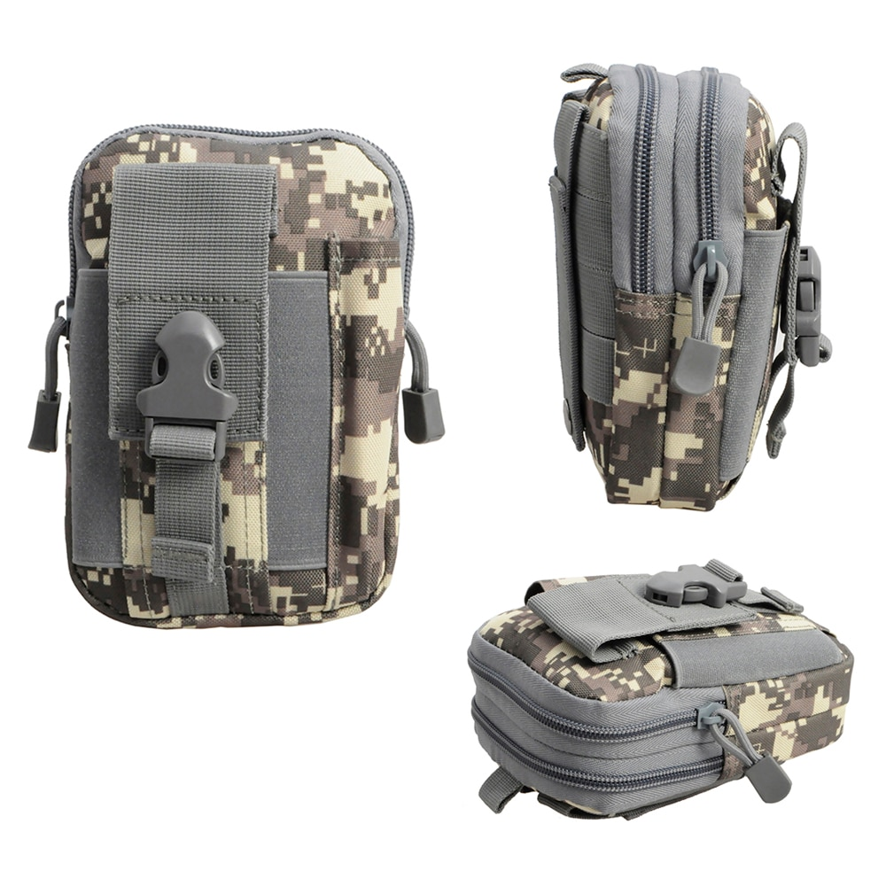 Tactical Molle Pouch Universal Holster Military Fanny Pack Outdoor Pouch Waist Belt Bag Wallet Pouch Purse Phone Case for Phone