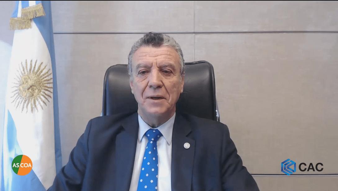 Natalio Mario Grinman - presidente de la CAC