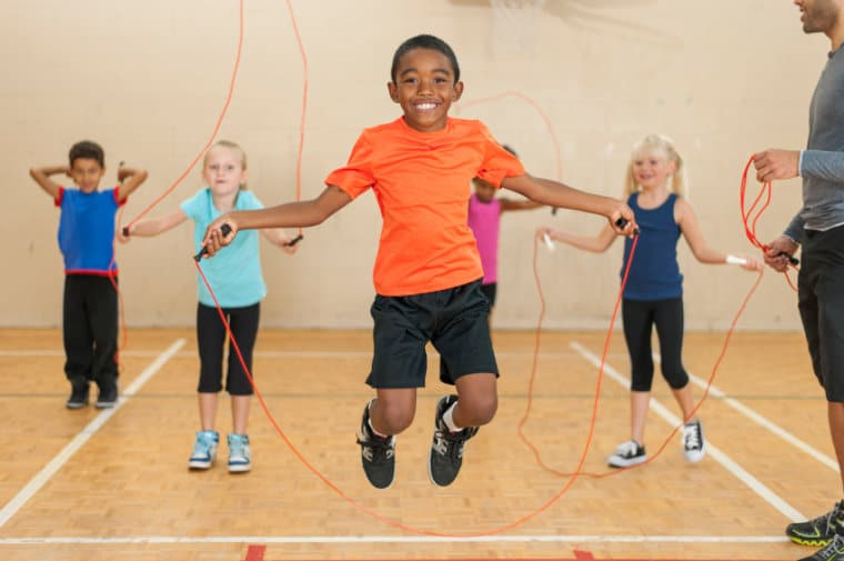 Image result for exercise images kids jump rope