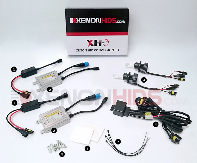 2pin Bulb Ballast Wiring Diagram Installation Guide For Hid Amp Led Headlights Xenonhids Com
