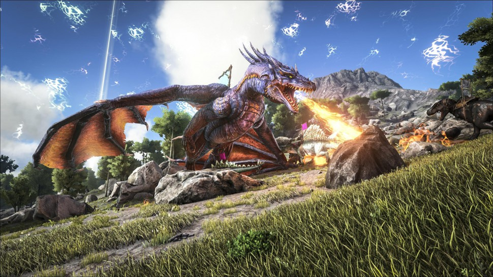 Ark Survival Evolved Update Brengt De Titanosaurus XGNnl