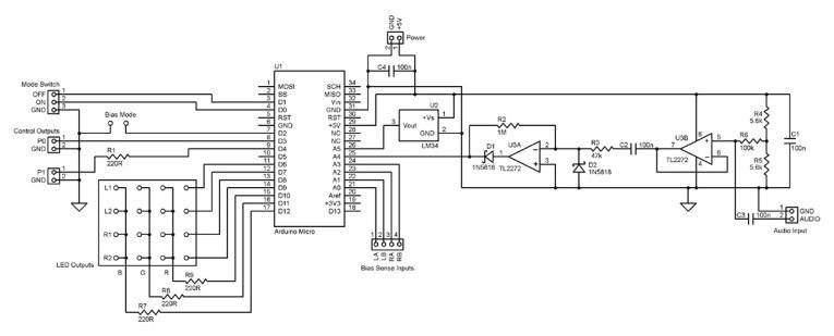 Extending the Arduino-Based Tube Power Amplifier