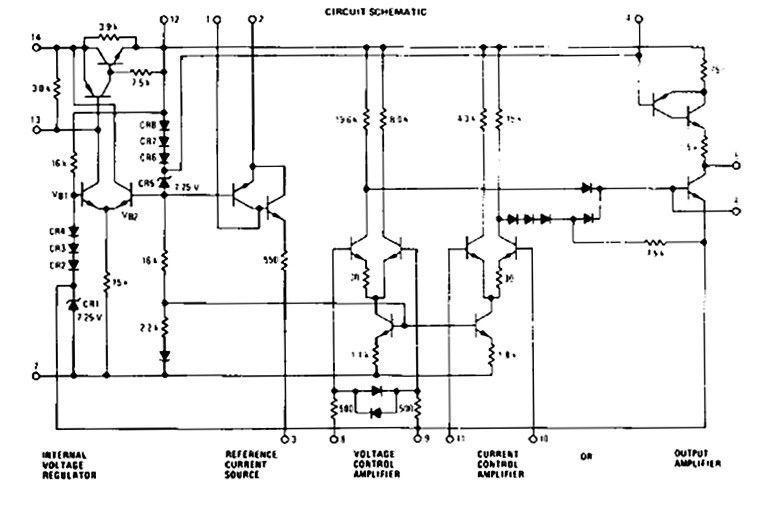 adjustable zener diode circuit schematic