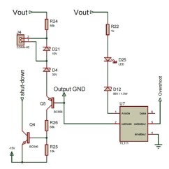 100w Subwoofer Amplifier Circuit Diagram 2003 Dodge Caravan Electrical Wiring You Can Diy An Ecological Power Supply For Amplifiers Figure 6 This Schematic Shows The Feedback Levels Adaption And Safety Voltage Limitations