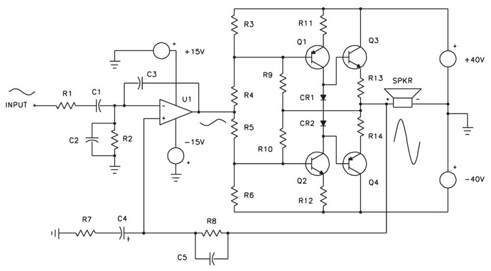 medium resolution of servo motor preamplifier 3 circuit diagram tradeoficcom wiring complete 2w servo amplifier circuit diagram tradeoficcom wiring