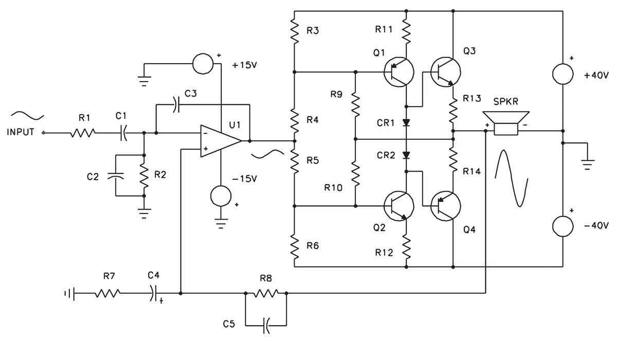 hight resolution of servo motor preamplifier 3 circuit diagram tradeoficcom wiring complete 2w servo amplifier circuit diagram tradeoficcom wiring