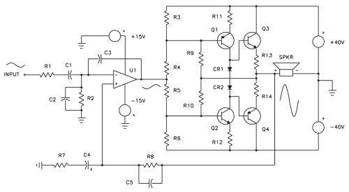 small resolution of servo motor preamplifier 3 circuit diagram tradeoficcom wiring complete 2w servo amplifier circuit diagram tradeoficcom wiring