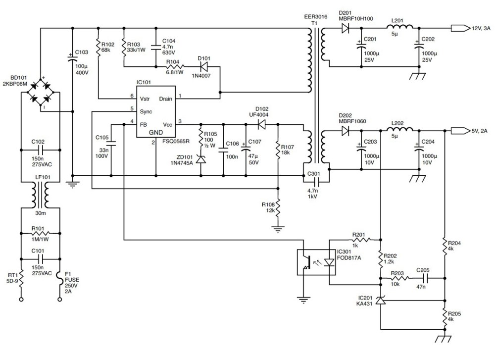 medium resolution of tl594 12v dc switch mode power supply rise circuit diagrams free repairing switching mode power supplies