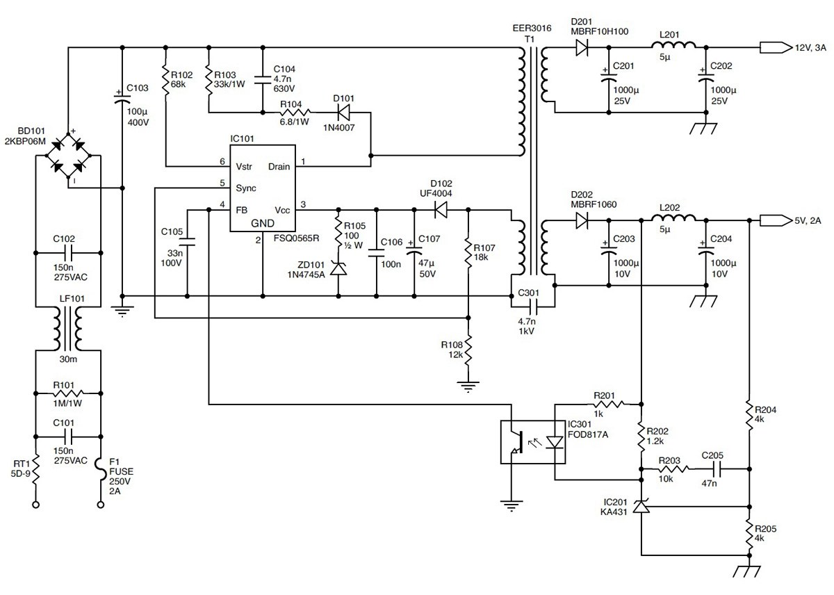hight resolution of tl594 12v dc switch mode power supply rise circuit diagrams free repairing switching mode power supplies