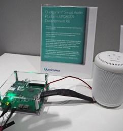 qualcomm introduces smart audio platform and speaker development smart speaker wiring [ 1200 x 900 Pixel ]